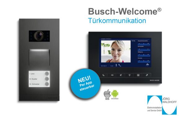 Busch-Welcome® – Türkommunikation